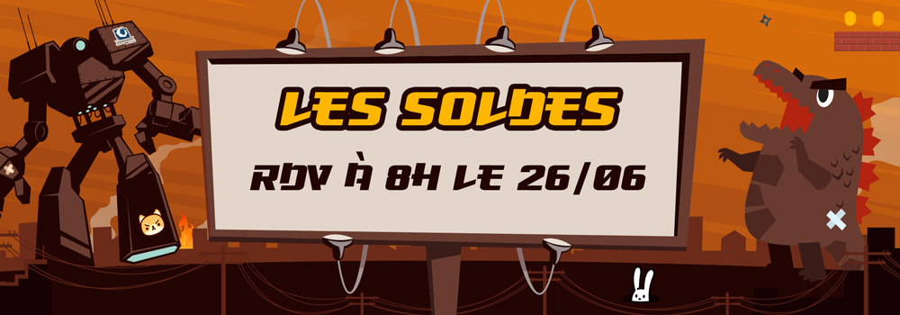 SOLDES - Annonce