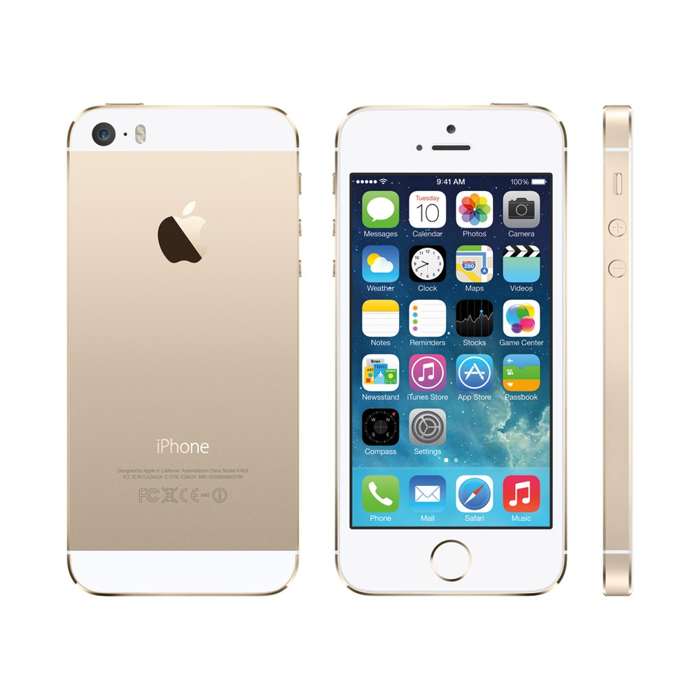 apple iphone 5s 16 go or 4g 4 reconditionn top achat. Black Bedroom Furniture Sets. Home Design Ideas