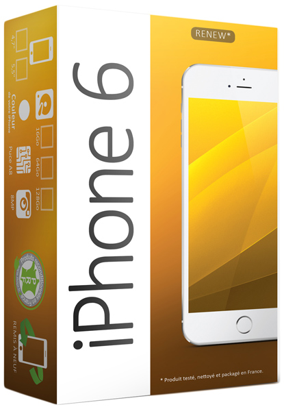 apple iphone 6 or 16 go 4 7 hd reconditionn top achat. Black Bedroom Furniture Sets. Home Design Ideas
