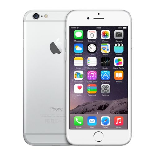 apple iphone 6 argent 128 go 4 7 hd reconditionn premium top achat. Black Bedroom Furniture Sets. Home Design Ideas