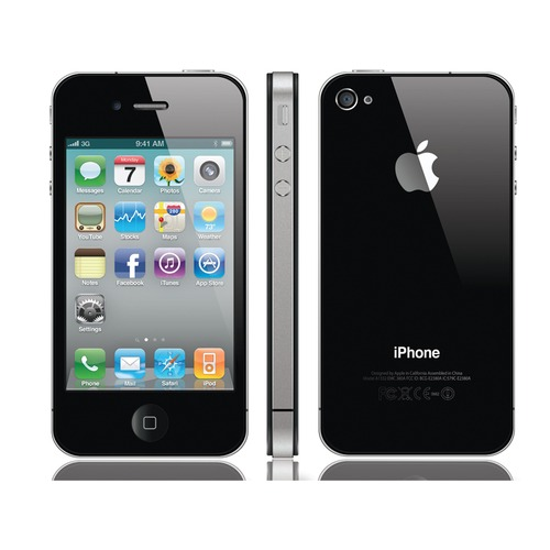 apple iphone 4 16 go noir 3 5 reconditionn neuf. Black Bedroom Furniture Sets. Home Design Ideas