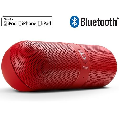 beats pill rouge reconditionn top achat. Black Bedroom Furniture Sets. Home Design Ideas