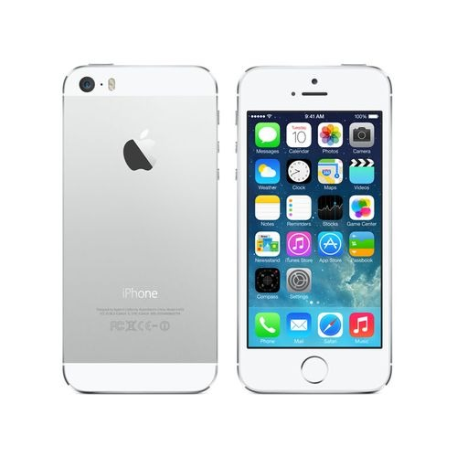 "Apple iPhone 5S 16 Go Argent, 4G, 4"" (Reconditionné Bon État)"
