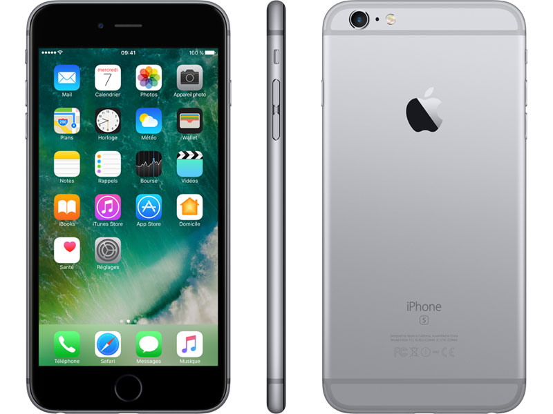 apple iphone 6s 4g 64 go gris sid ral reconditionn premium top achat. Black Bedroom Furniture Sets. Home Design Ideas