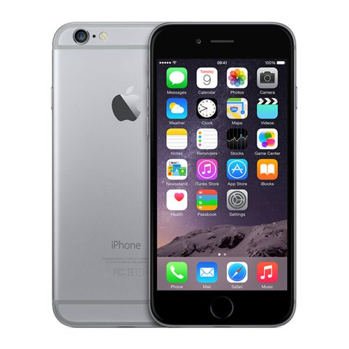Apple iPhone 6 (4G) 16 Go - Gris Sidéral (Reconditionné - Premium)