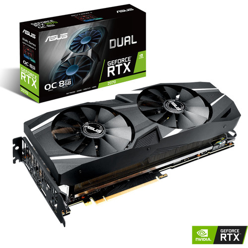 Asus GeForce RTX 2070 DUAL OC, 8 Go (occasion)