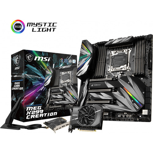 MSI MEG X299 CREATION (occasion)