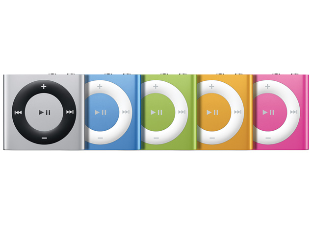 Ipod shuffle 2 go argent apple top achat for Housse ipod shuffle