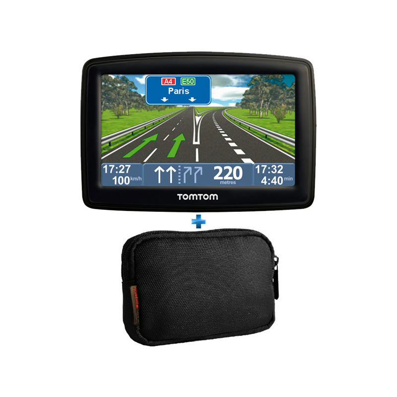 Gps tomtom xl iq routes 2 europe housse top achat for Housse tomtom xxl