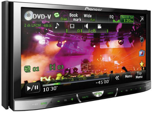 autoradio pioneer avh 3400dvd top achat. Black Bedroom Furniture Sets. Home Design Ideas