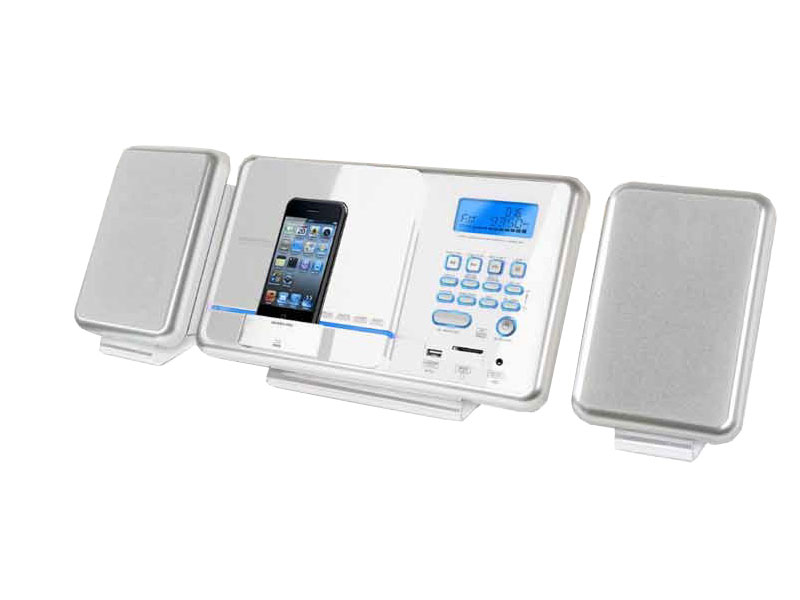 mini cha ne hi fi mp3 avec tuner digital h b hf 430i blanc top achat. Black Bedroom Furniture Sets. Home Design Ideas