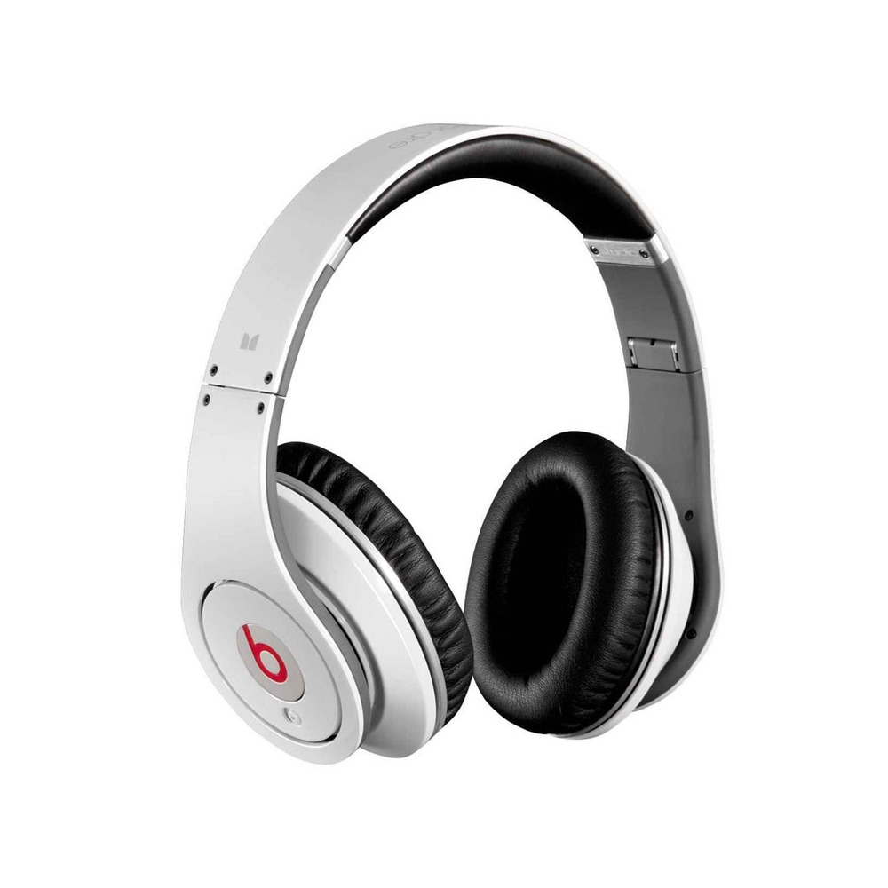 casque beats by dr dre studio blanc top achat. Black Bedroom Furniture Sets. Home Design Ideas