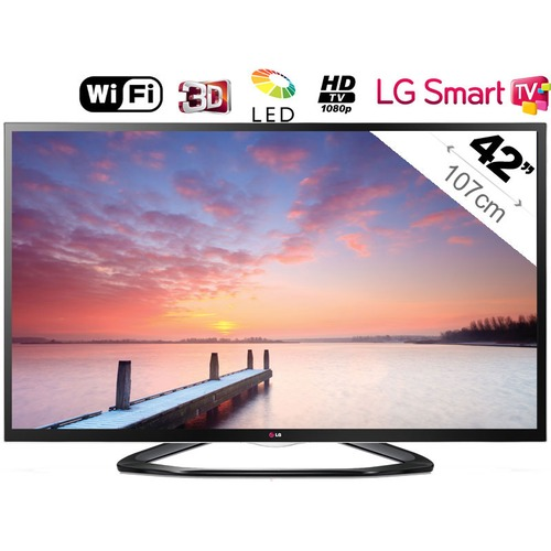 tv led 3d lg 42la640s 107 cm top achat. Black Bedroom Furniture Sets. Home Design Ideas