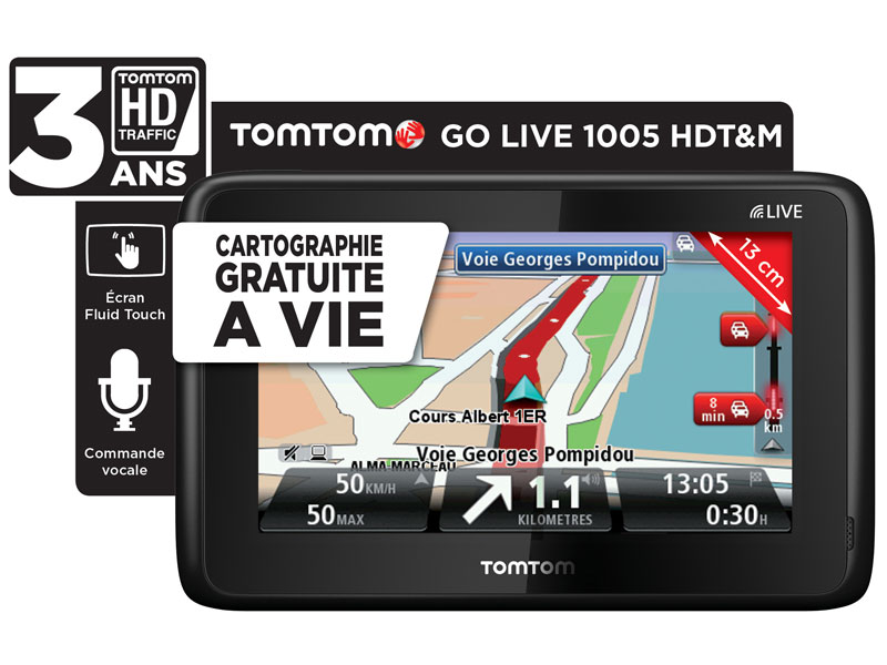 gps tomtom go live 1005 hdt m europe top achat. Black Bedroom Furniture Sets. Home Design Ideas