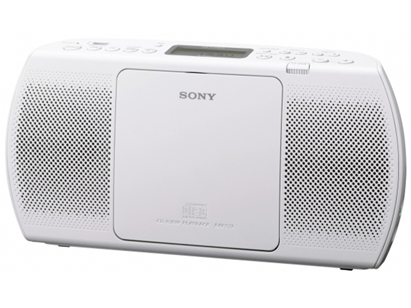 radio portable sony zs pe40cp blanc top achat. Black Bedroom Furniture Sets. Home Design Ideas