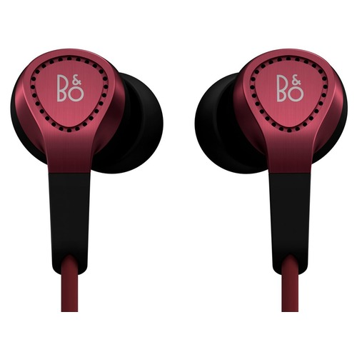 ecouteurs intra auriculaires bang olufsen beoplay h3 rouge top achat. Black Bedroom Furniture Sets. Home Design Ideas