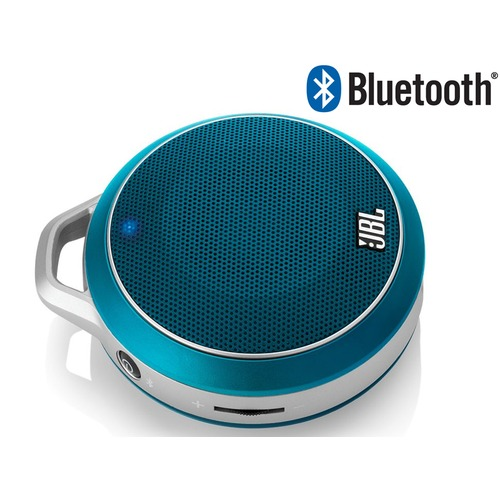 enceinte nomade sans fil bluetooth jbl micro wireless bleu top achat. Black Bedroom Furniture Sets. Home Design Ideas