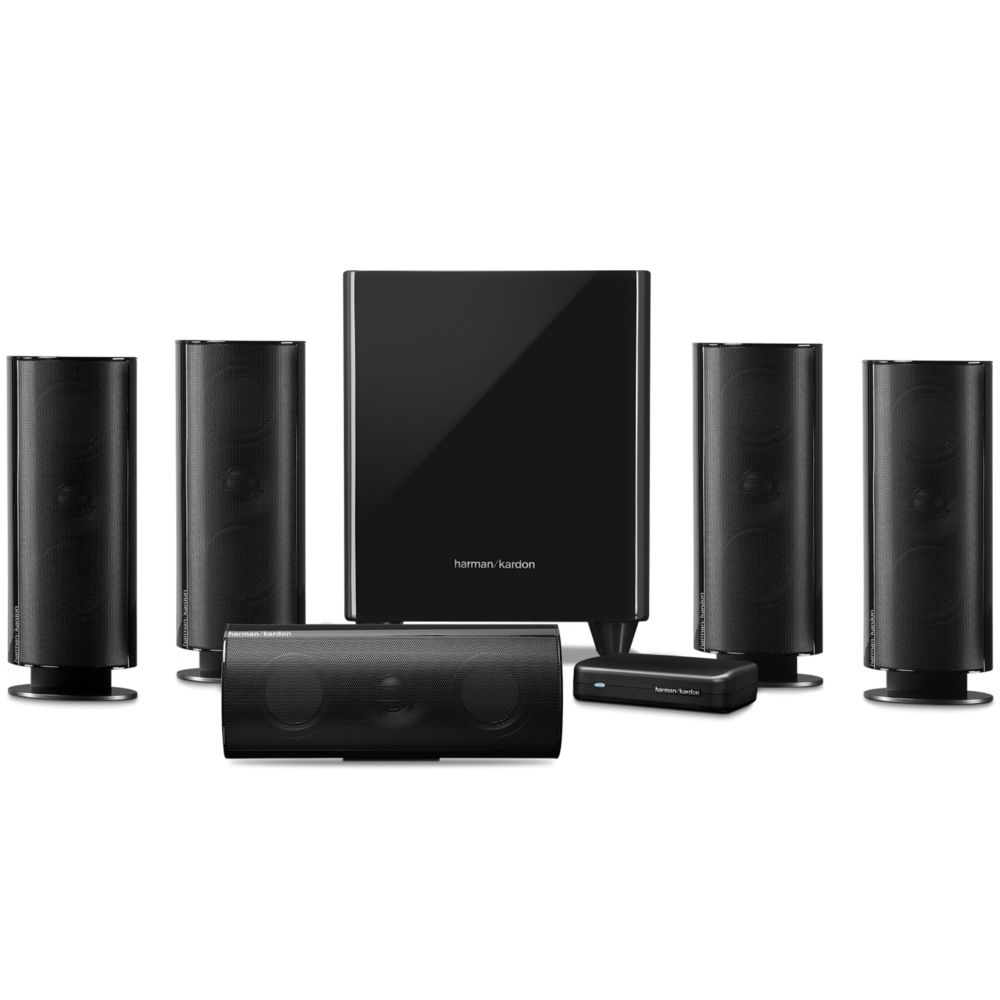 Pack D Enceintes Home Cin Ma 5 1 Harman Kardon Hkts 65 Noir  # Emplacement Enceinte Home Cinema