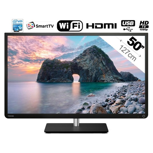tv led toshiba 50l4333 127 cm top achat. Black Bedroom Furniture Sets. Home Design Ideas