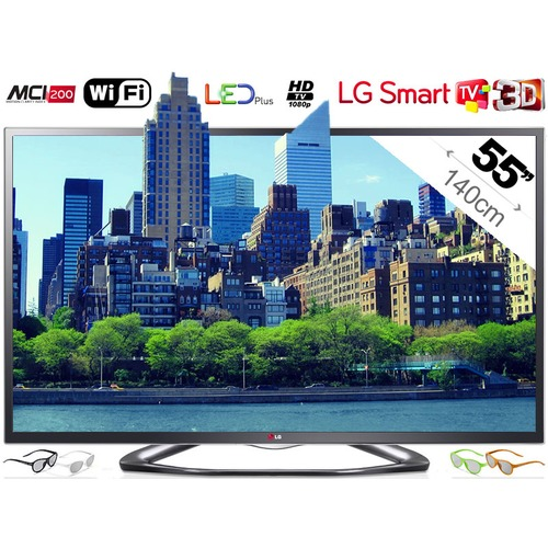 tv led 3d lg 55la641s 140 cm top achat. Black Bedroom Furniture Sets. Home Design Ideas