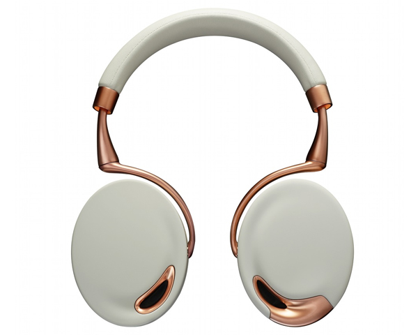 casque arceau sans fil bluetooth parrot zik by starck blanc or rose top achat. Black Bedroom Furniture Sets. Home Design Ideas