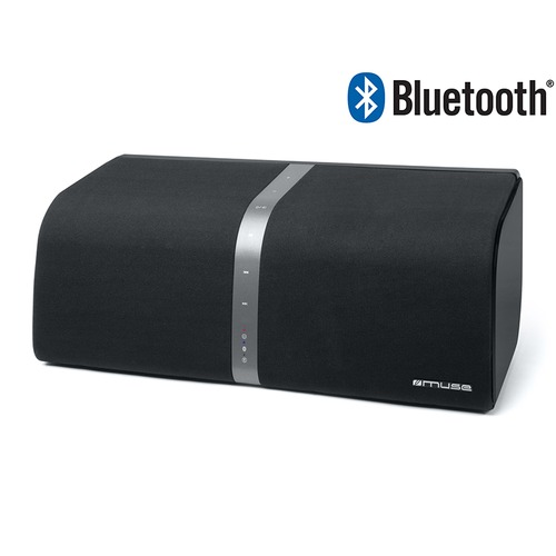 enceinte nomade sans fil bluetooth muse m 800 bt noir. Black Bedroom Furniture Sets. Home Design Ideas