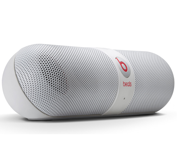 enceinte nomade sans fil bluetooth beats pill 2 0 blanc. Black Bedroom Furniture Sets. Home Design Ideas