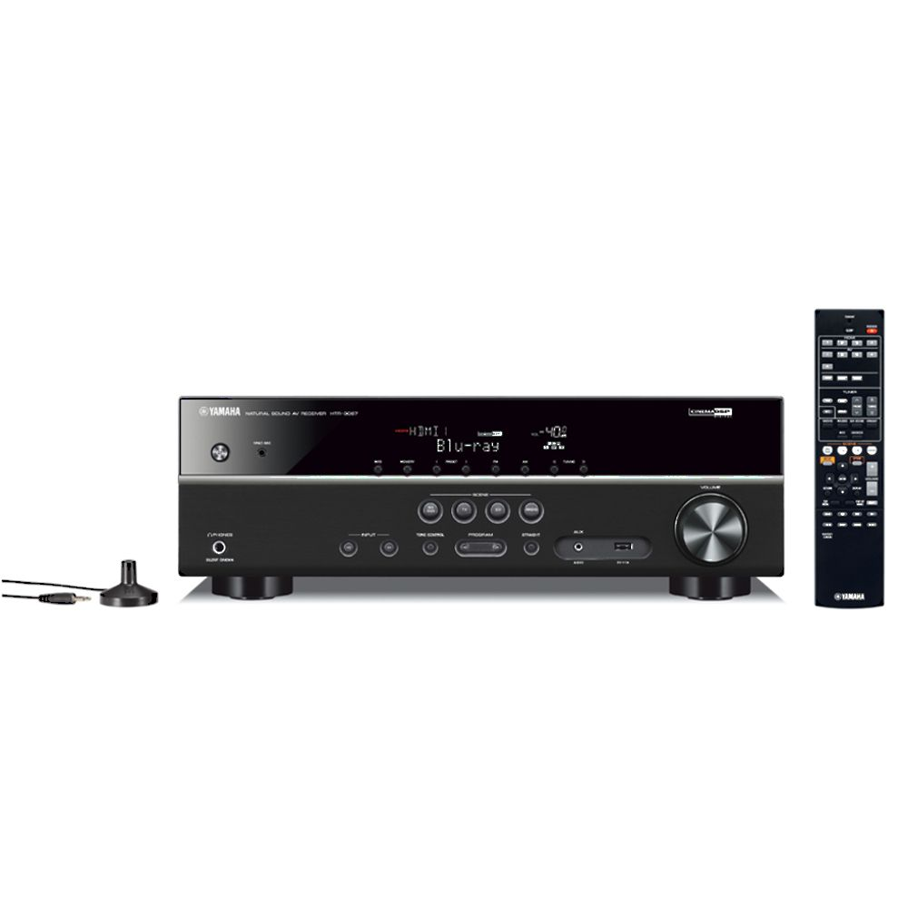 ampli audio vid o 5 1 yamaha htr 3067 noir top achat. Black Bedroom Furniture Sets. Home Design Ideas