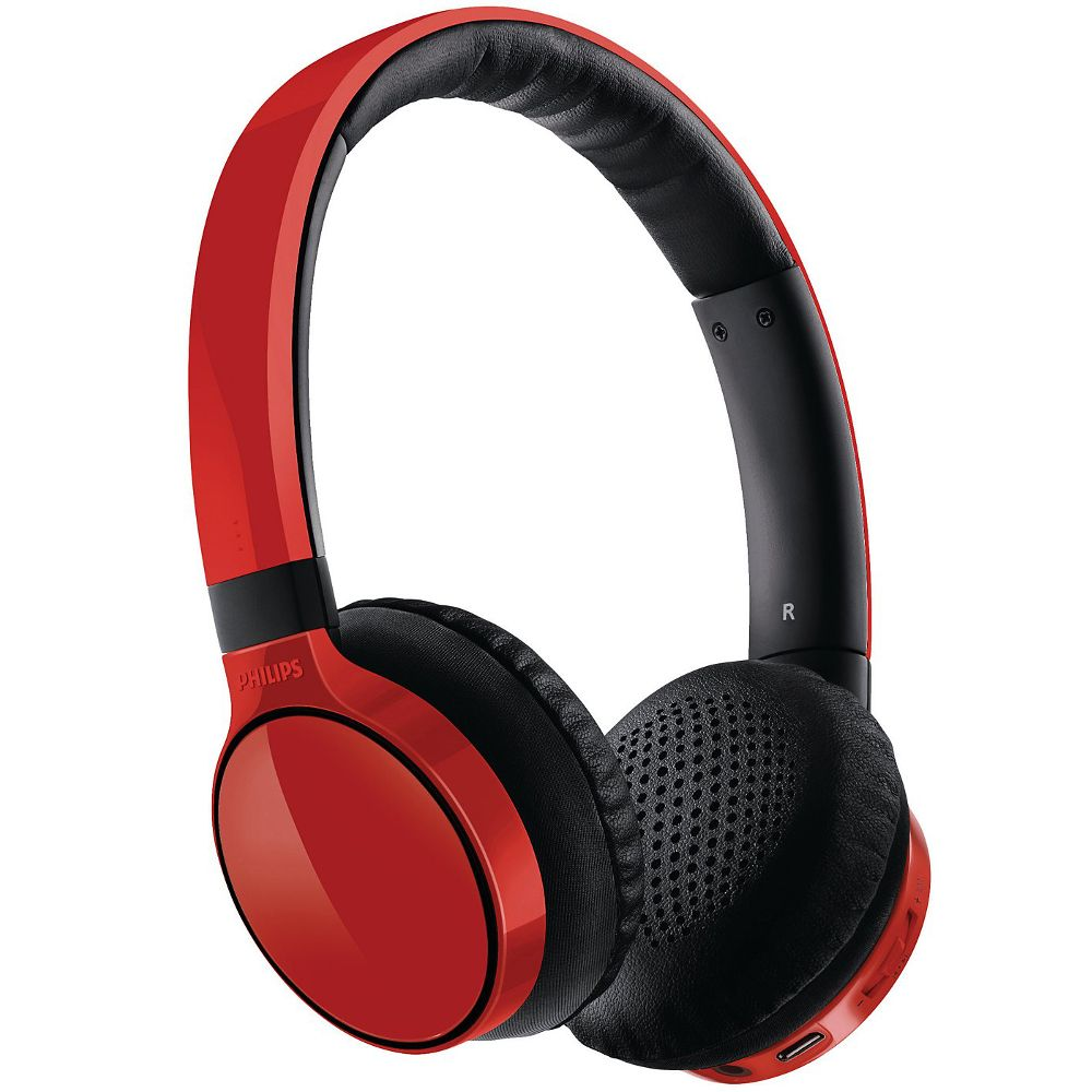 casque nomade sans fil philips shb 9100 rouge top achat. Black Bedroom Furniture Sets. Home Design Ideas