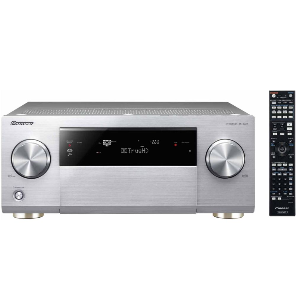 ampli audio vid o pioneer sc 2024 s argent top achat. Black Bedroom Furniture Sets. Home Design Ideas