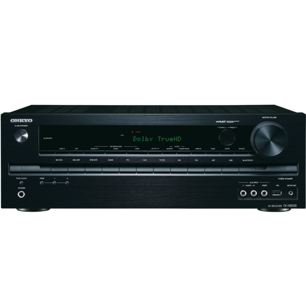 ampli audio vid o onkyo tx nr535 noir top achat. Black Bedroom Furniture Sets. Home Design Ideas