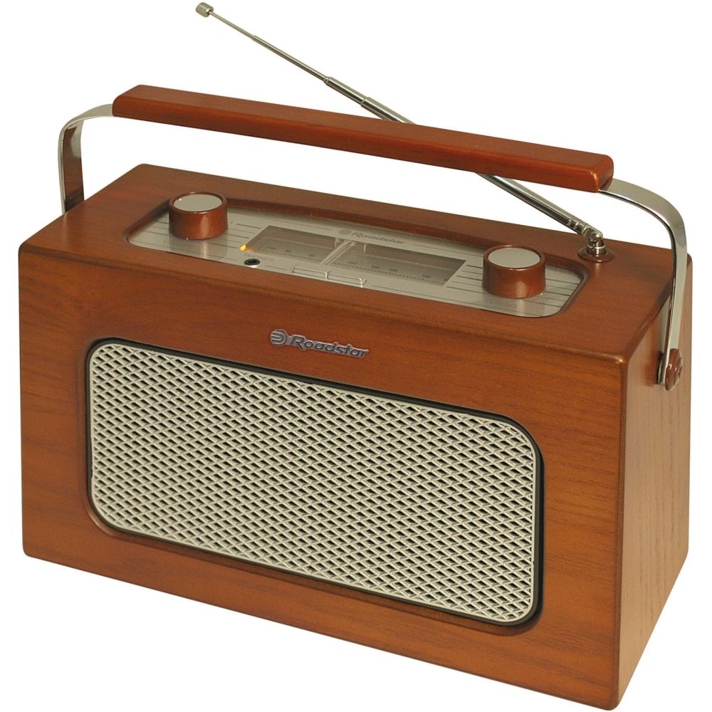 radio portable roadstar tra 1958 wd bois achat pas cher avis. Black Bedroom Furniture Sets. Home Design Ideas