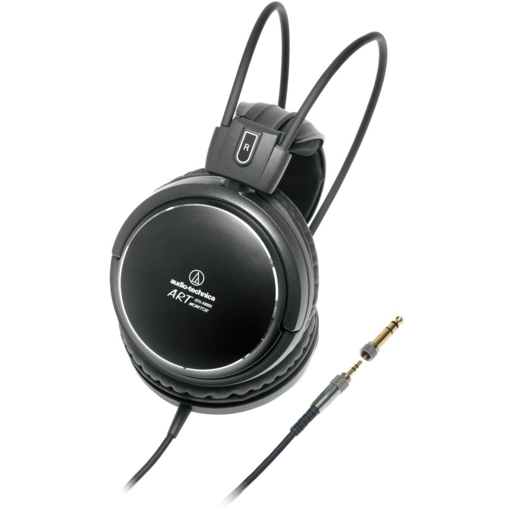 casque hifi audio technica ath a900x noir top achat. Black Bedroom Furniture Sets. Home Design Ideas