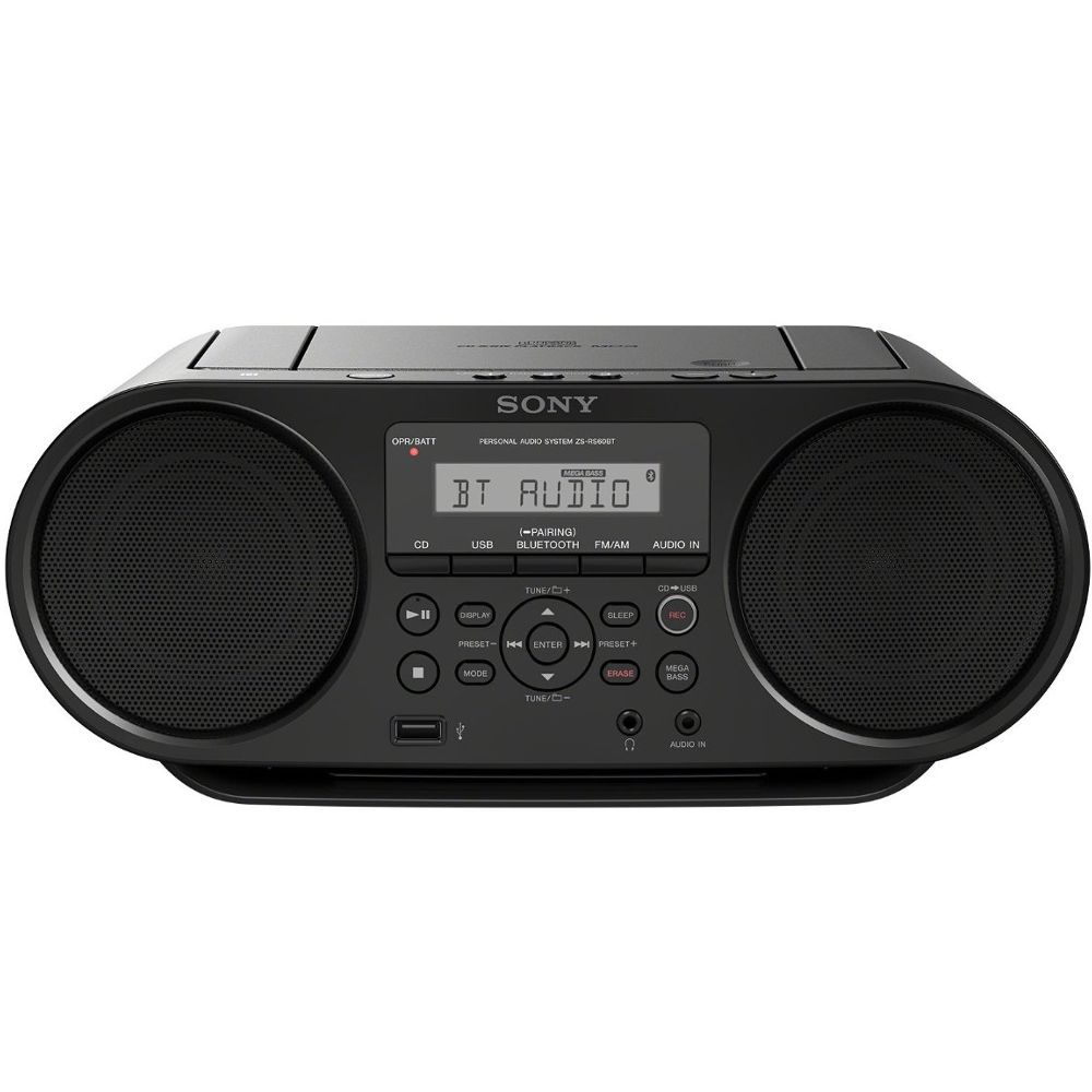 radio cd sony zsrs60bt noir achat pas cher avis. Black Bedroom Furniture Sets. Home Design Ideas