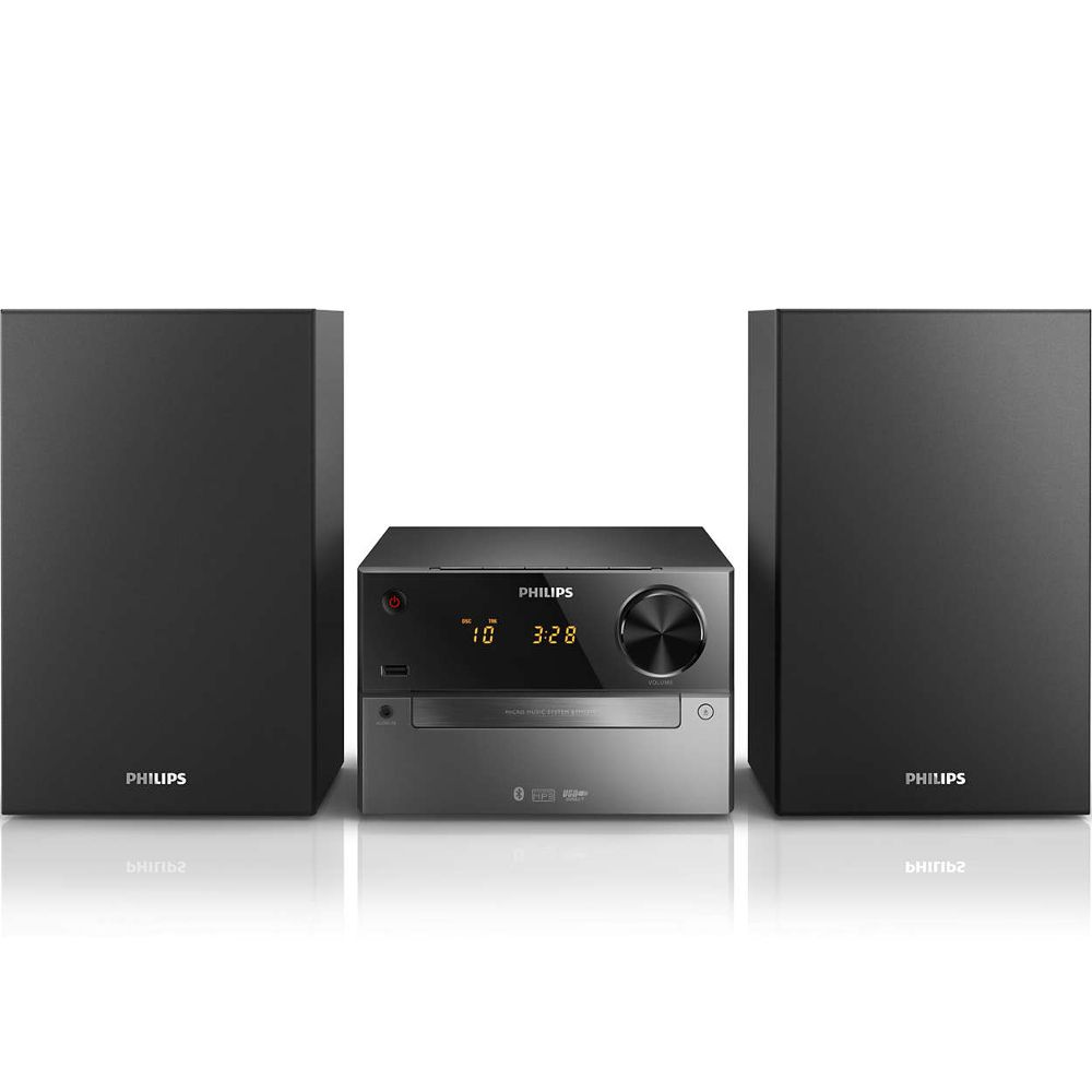 micro cha ne hifi philips btm 2310 noir achat pas cher avis. Black Bedroom Furniture Sets. Home Design Ideas