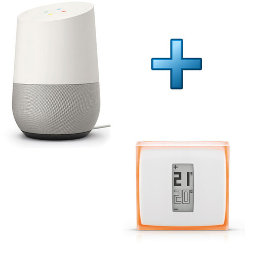 google home netatmo thermostat nth01 fr ec achat pas cher avis. Black Bedroom Furniture Sets. Home Design Ideas