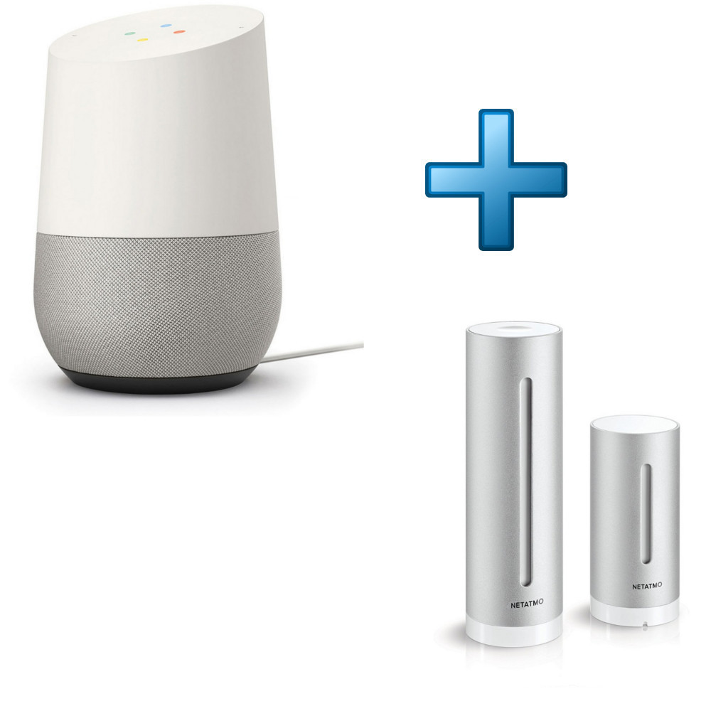 google home netatmo station m t o individuelle top achat. Black Bedroom Furniture Sets. Home Design Ideas