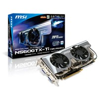 Carte graphique MSI GeForce GTX 560 Ti Twin Frozr II/OC, 1 Go