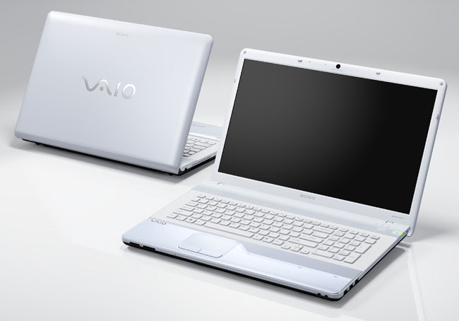 ordinateur portable sony vaio blanc. Black Bedroom Furniture Sets. Home Design Ideas