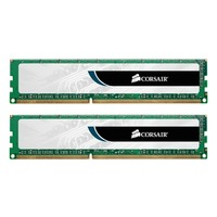 Kit Dual Channel DDR3 Corsair Value Select, 2 x 4 Go, PC-10600, CAS 9