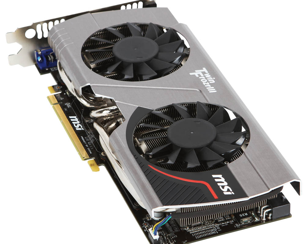 MSI GeForce GTX 570 1280MB Twin Frozr III Power …