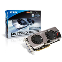 Carte graphique MSI GeForce GTX 570 Twin Frozr III Power Edition, 1280 Mo