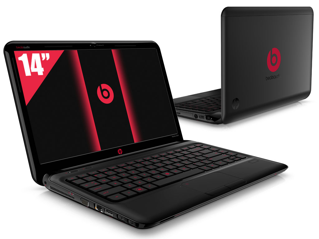 pc ultra portable hp pavilion dm4 3060ef beats edition 14. Black Bedroom Furniture Sets. Home Design Ideas