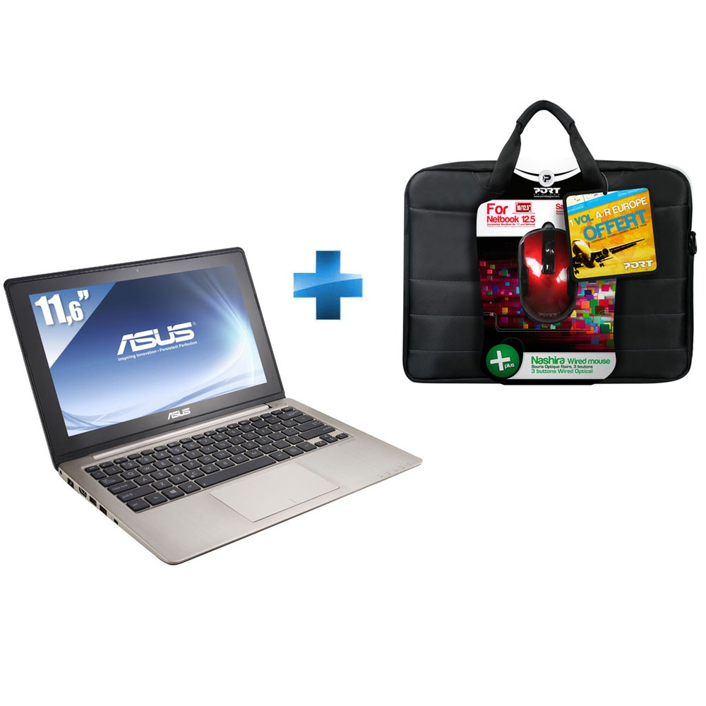 pc ultra portable asus vivobook eeepc x202e ct006h 11 6 tactile pack top achat. Black Bedroom Furniture Sets. Home Design Ideas