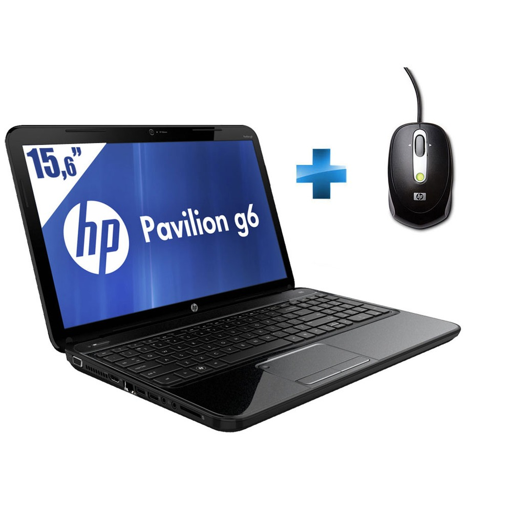 pc portable hp pavilion g6 2253sf 15 6 mini souris. Black Bedroom Furniture Sets. Home Design Ideas