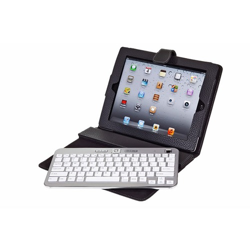 housse ipad avec clavier bluetooth aluminium bluestork. Black Bedroom Furniture Sets. Home Design Ideas