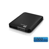 Western Digital Elements, 1 To, Noir