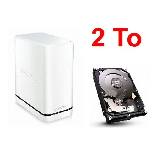 d link dns 320lw disque dur seagate barracuda 2 to top. Black Bedroom Furniture Sets. Home Design Ideas