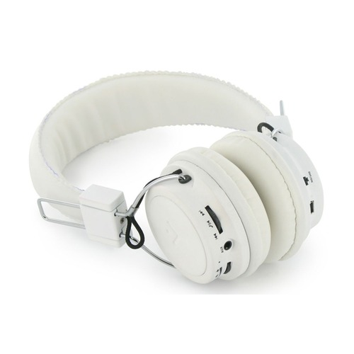 Casque arceau sans fil Bluetooth Ryght, R481115, Blanc