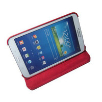 "Cleverline Etui 360� pour Samsung Galaxy Tab 3 8"" Rouge"